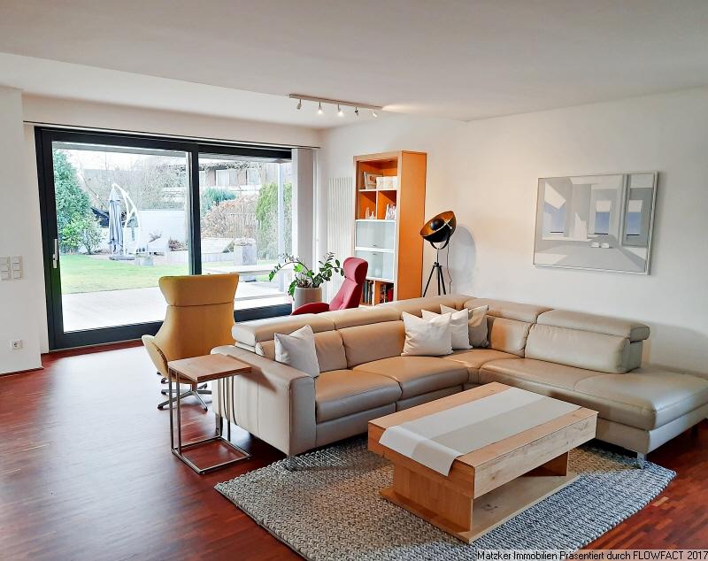 Wohnzimmer, Blick Garten